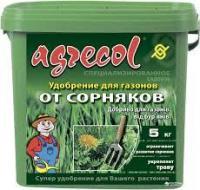 Удобрение Agrecol для газона от сорняков, 5 кг