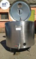 Охладитель молока б/у Alfa Laval 500 открытого типа, 500 л