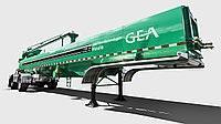 Полуцистерна для перевозки навозной жижи STR GEA Houle