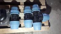 Муфта соединительная UNIDELTA 110x110 компрессионный фитинг