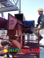 Монтаж демонтаж транспортера вертикального ковшевого типа Нория Н-5 - 500 т/ч