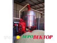 Перевод, модернизация передвижных зерносушилок Pedrotti на твердые виды топлива