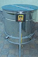 Медогонка радиальная 20/40 с электроприводом с крышкой и подставкой, нержавейка