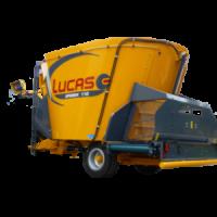 LUCAS G Spirmix 110 L, 120 L, 130 L кормосмеситель-раздатчик с транспортером