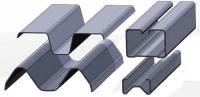 Гнутый профиль металлический