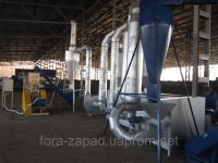 Сушильный агрегат аеродинамический (сушка сырья)