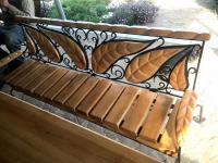 Стол деревянный садовый, для кафе, баров, дачи, ресторанов. Столы ... | 150x200