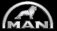 Спойлер нижний переднего бампера MAN (350 mm) Lamiro 2311-21