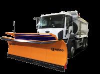 Солеразбрасыватель Rasco на шасси Ford Trucks 3542 DC, отвал MSP 3.2 m