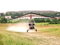 Десикація соняшника мотодельтопланом - авіахімроботи гвинтокрилом