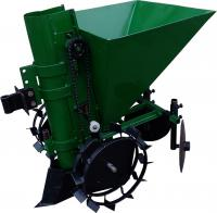 Картофелесажалка к мотоблоку КСМ-1Ц (зеленая)