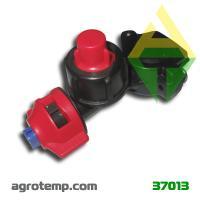 Форсунка опрыскивателя AgroPlast (под трубу 25мм с отсекателем)