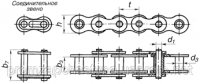 Цепь втулочная ПВ-9,525-11,5