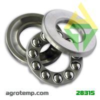 Подшипник шариковый упорный 8201 (51201)