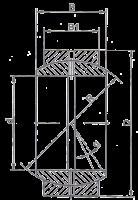 Подшипник GE15E (ШС15) ZVL Slovakia