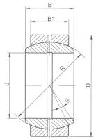 Подшипник GE140E (ШС140) ZVL Slovakia