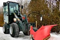 Отвал снегоуборочный на погрузчики