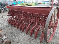 Зерновая тракторная навесная сеялка 2,7 м на 22 ряда б/у Agromet Польша