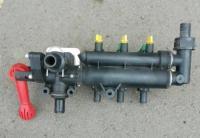 Регулятор давления ручной 3-секционный Geoline опрыскивателя Hardi, 150 л/мин, 20 bar