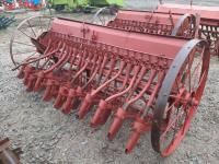 Сеялка зерновая навесная 2,7 м на 22 ряда б/у Agromet Польша