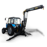 Кран-манипулятор Dlagro для трактора
