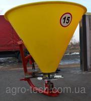Разбрасыватель минудобрений пластиковый Jar-Met, 300 - 500 кг