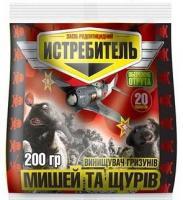Средство против мышей и крыс Истребитель мышей и крыс, 200 г