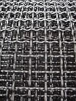 Сетка тканная нержавеющая, ячейка 12 мм, проволка 2 мм, ширина 1 м