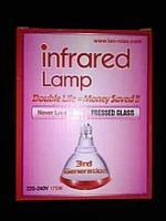 ИК лампа для обогрева птиц, 175 Вт