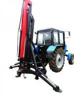 Кран манипулятор для трактора ТМ Hors Aqro