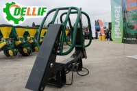 Захват для тюков Dellif на трактор МТЗ, ЮМЗ, Т 40