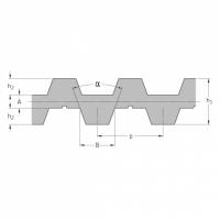 Ремни метрические зубчатые двусторонние, SKF