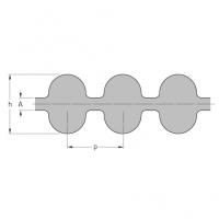 Ремни зубчатые двусторонние HiTD, SKF