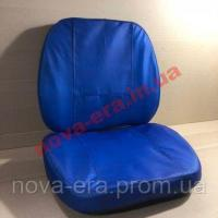 Чехол МТЗ подушки сиденья кожзам синий, под шнур (НОВАЯ ЭРА)