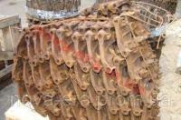 Гусеница Т-150 в сборе (до 1986 г.в.) (ЧАЗ) комплект 150.34.001/002