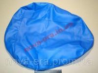 Чехол МТЗ подушки сиденья УК (синий) без подкладки, под шнур