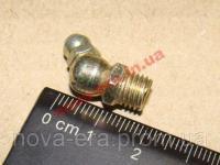 Масленка (тавотица) ф8 угловая под 45 градусов МТУ-45