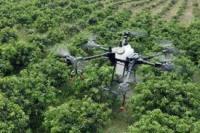 Внесение средств защиты с помощью дронов