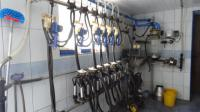 Шведский молокопровод ДеЛаваль 200 голов дойного стада