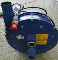 Зернодробилка молотковая дробилка ДКУ подрібнювач зерна 7.5 кВт зелений Osuch