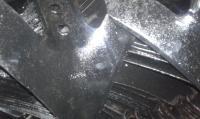 """Лапа культиваторная 10"""" N331105, 254 мм"""
