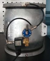 Регулирующий клапан Dy-200, без регулятора давления (ручное управление + автоуправление)