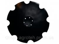 Диск Lemken Rubin /ВА-01.473/ D=620 mm, h=6 mm (н/о) Бор