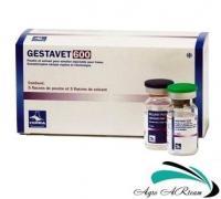 Геставет, 1 фл.х 5 мл (1 доза) + растворитель 5 мл, Hipra (Испания)