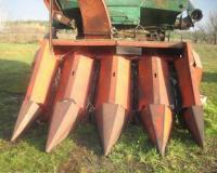 Жатка кукурузная ППК 4 под комбайн Нива
