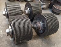Ролик 220/120 Н для модернизированного гранулятора Б6-ДГВ