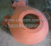 Передняя крышка гранулятора (без питателя) ОГМ-1.5