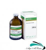 Ферум+, 100 мл, при железодефицитной анемии у животных, BioTestLab