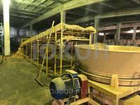 Промышленный измельчитель рулонов сена и соломы