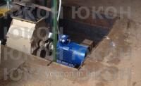Ситовая молотковая дробилка, для линии гранулирования